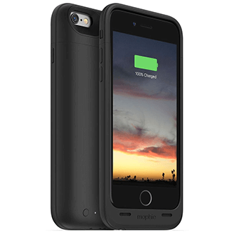 Black Mophie Juice Pack Air - Apple iPhone 6/6S 3