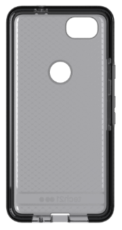 Smokey/Black Tech 21 Evo Check - Pixel 2 Case Back View