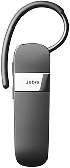 Black Jabra Talk 15 Bluetooth Headset Front
