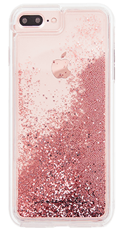 Rose Gold Case-Mate Waterfall - iPhone 6 Plus/6s Plus/7 Plus/8 Plus Case Back View