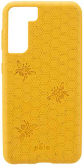 Yellow Bee Pela Galaxy S21+ 5G Case from the Back
