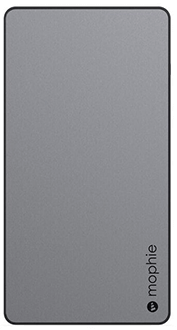 Space Grey Mophie Powerstation XL (10,000mAh) - Front View