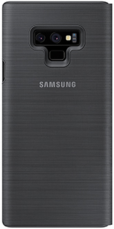 Black Samsung Galaxy Note9 LED Cover Back