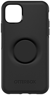 Black Otter + Pop Symmetry iPhone 11 Pro Max Case Back