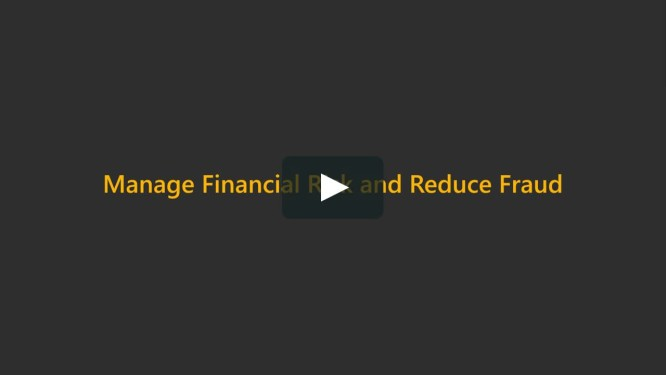 Manage risk and reduce fraud solution overview video