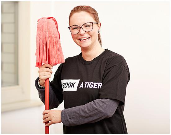 sie suchen eine zuverl ssige putzfrau book a tiger. Black Bedroom Furniture Sets. Home Design Ideas