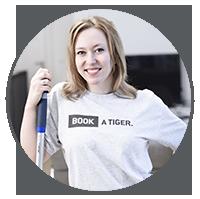 BOOK A TIGER Natalie Putzfrau