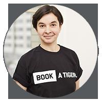 BOOK A TIGER Ioana P. Putzfrau