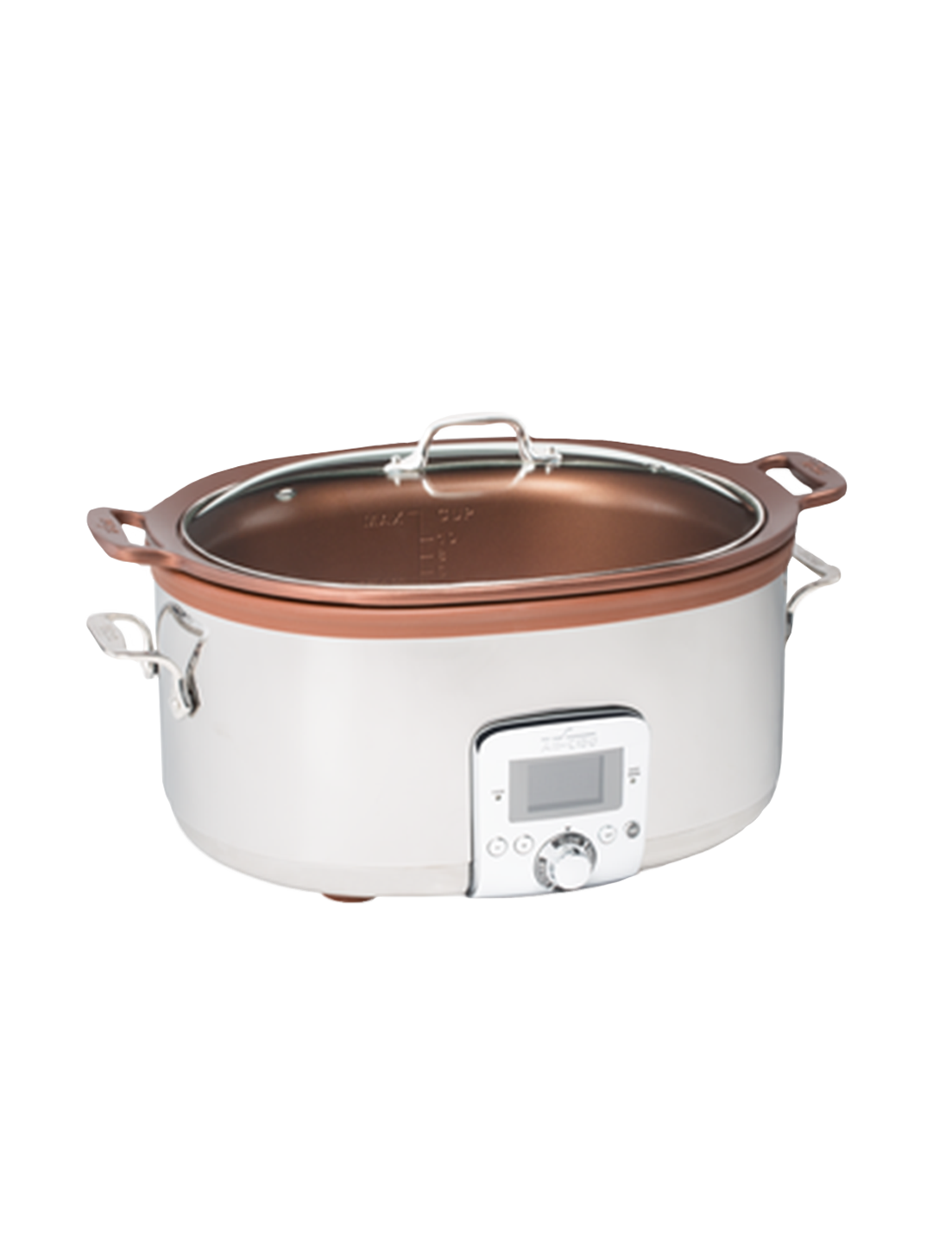 All Clad 7qt Gourmet Slow Cooker With In Pot Browning Function