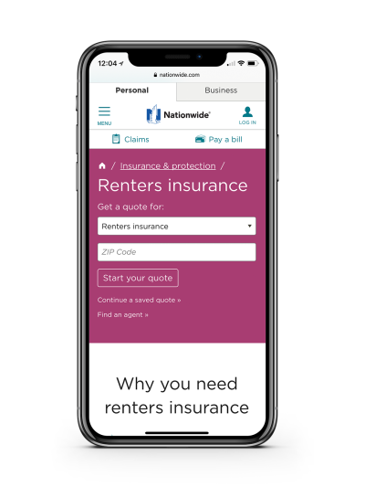 Nationwide Renters Insurance