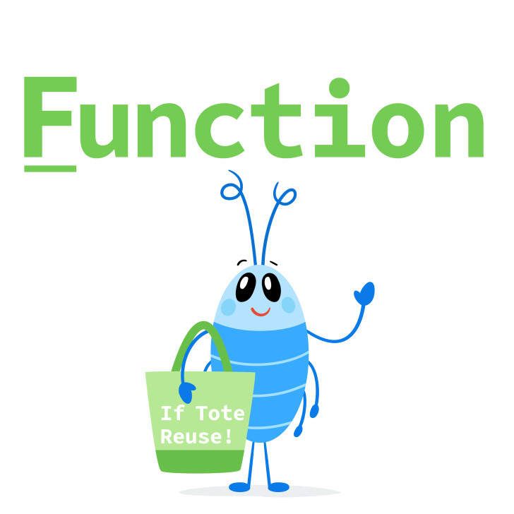 A function is code that you can reuse!
