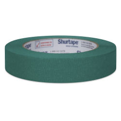 ShurTech Colored Masking Tape - Green, 0.94'' x 60 yds