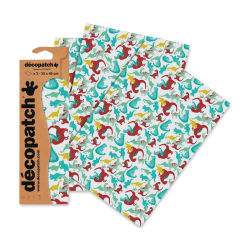 "DecoPatch Papers - Dinosaur, Package of 3, 12"" x 16"""