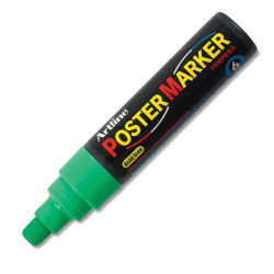Artline Poster Markers - 6 mm Tip, Fluorescent Green