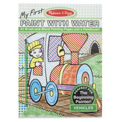 Melissa & Doug My First Paint with Water Activity Book - Vehicles