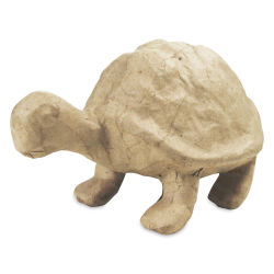 DecoPatch Medium Paper Mache Figure - Turtle
