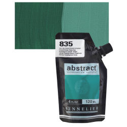 Sennelier Abstract Acrylic - Cobalt Green Deep Hue, 120 ml pouch