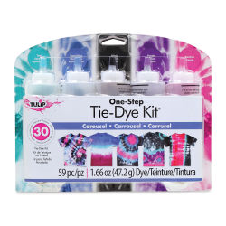 Tulip One-Step Tie-Dye Kit - Carousel, Set of 5 Colors