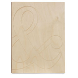 Walnut Hollow Patterned Sign  - Ampersand, 9-3/8'' x 11-3/8''