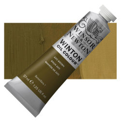 Winsor & Newton Winton Oil Color - Azo Brown, 37 ml, Tube with Swatch