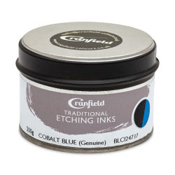 Cranfield Traditional Etching Ink - Cobalt Blue, 250 g