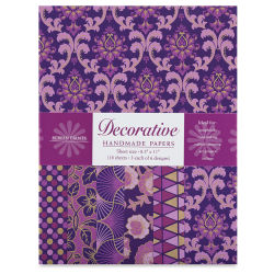 Shizen Decorative Paper - 8-1/2'' x 11'', Purple/Violet