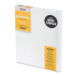 Blick Premier Back-Stapled Gallery 1-1/2'' Profile Cotton Canvas - 11'' x 14''