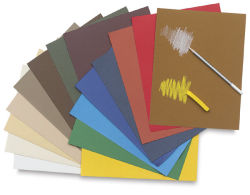 Canson Mi Teintes Drawing Papers - 19'' x 25'', Anise, Single Sheet