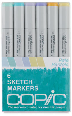 Pale Pasters Set of 6