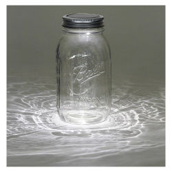 Darice Solar Powered Mason Jar Lid, Jar Purchased Separately