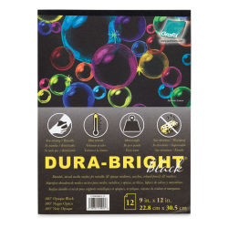 Grafix Dura-Bright Black Film Pad
