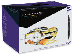 Prismacolor Premier Double-Ended Art Marker Set - Assorted Colors, Set of 200