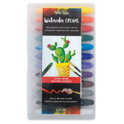Brea Reese Watercolor Creams - Classic Colors, Set of 12