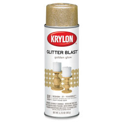 Krylon Glitter Blast Spray Paint - Golden Glow, 5.75 oz can