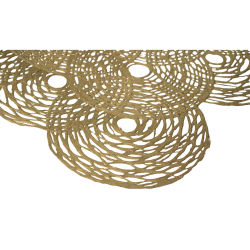 Gold Leaf Design Decorative Papers - Solar, Gold
