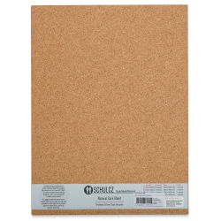 "Schulcz Scale Model Cork Sheets - 11-3/4"" x 15-3/4"", 3 mm, Pkg of 2 Sheets (front of package)"