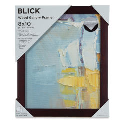 Blick Wood Gallery Frame - Walnut, 8'' x 10''