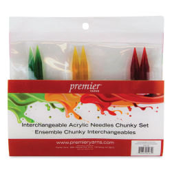 Premier Yarn Interchangeable Acrylic Knitting Needle Set - Chunky Set