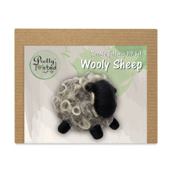 Pretty Twisted Needle Felting Animal Kit - Wooly Sheep