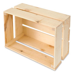 Walnut Hollow Rustic Crates - Large