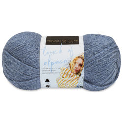 Lion Brand Touch of Alpaca Yarn - Dusty Blue