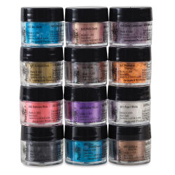 Jacquard Pearl-Ex Pigment - 0.1 oz, Set of 12, Series III