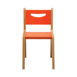 Whitney Brothers Plus Chair - Orange, 14""