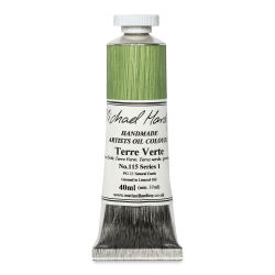 Michael Harding Artists Oil Color - Terre Verte, 40 ml tube