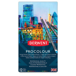 Derwent ProColour Colored Pencils - Set of 12
