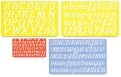 Helix Lettering Guide Value Pack, Italic