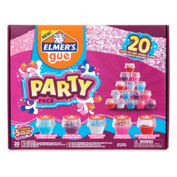 Elmer's Gue Premade Slime - Party Pack, 2 oz