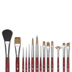 Princeton Velvetouch Series 3950 Synthetic Brushes