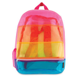 Fashion Angels Backpack - Transparent Rainbow