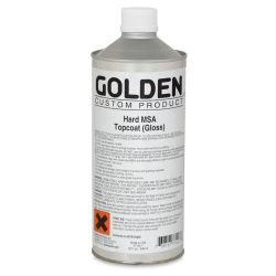 Golden Hard MSA Topcoat - Gloss, 32 oz Can